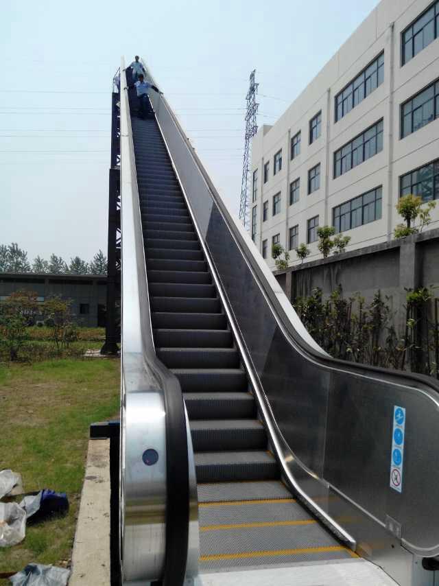 18米扶梯通过型实验