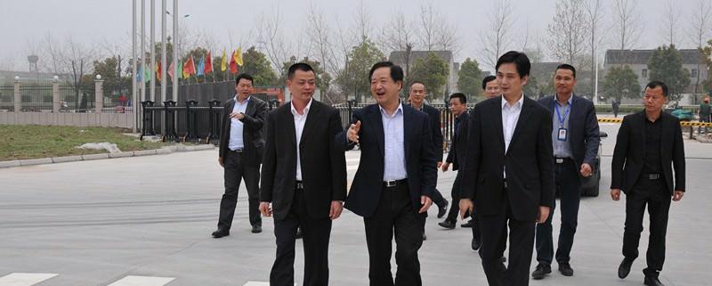 吴江区委常委、常务副区长沈金明等领导视察我司